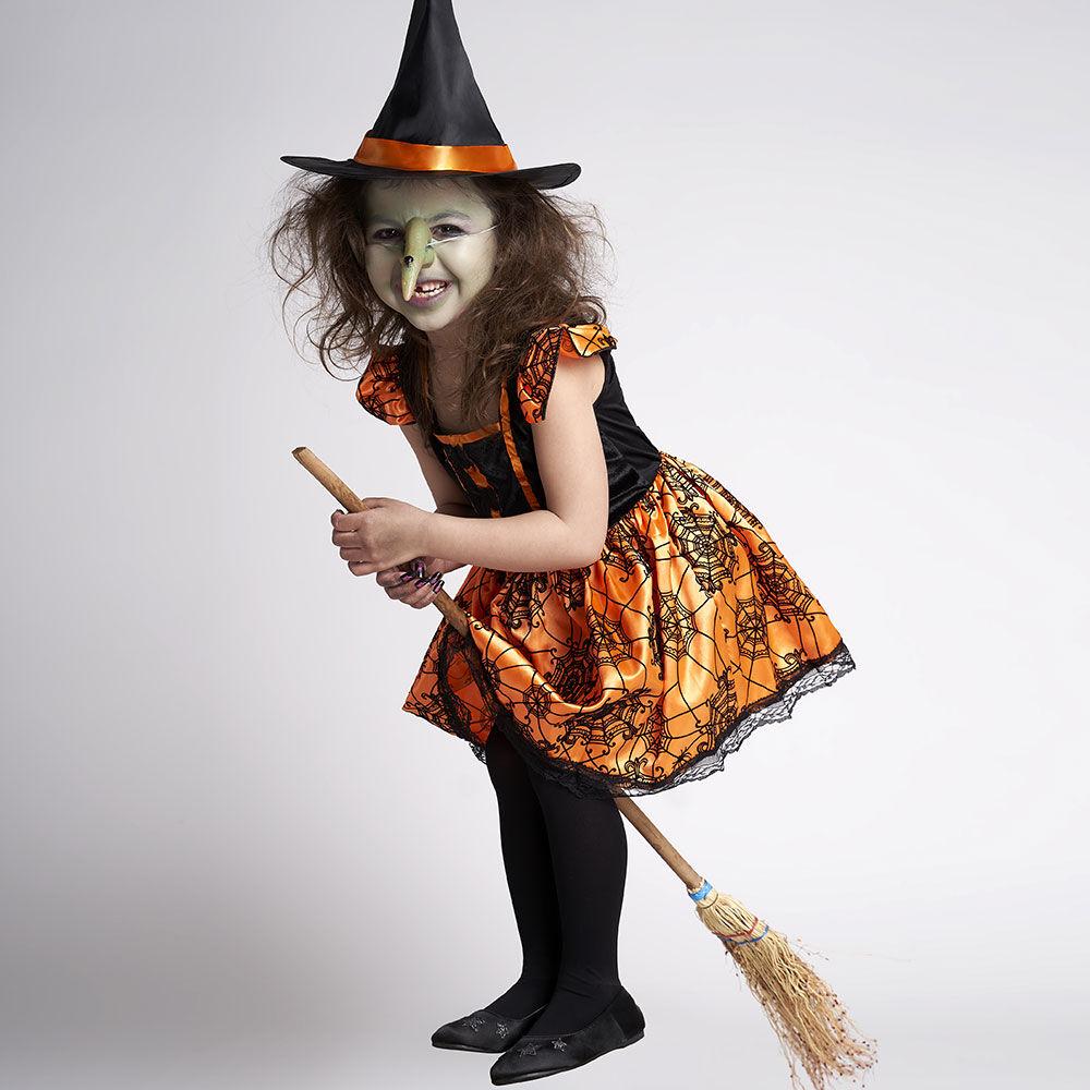 Disfraz Glam Bruja Pumpkin Talla 7/9 image number 0.0