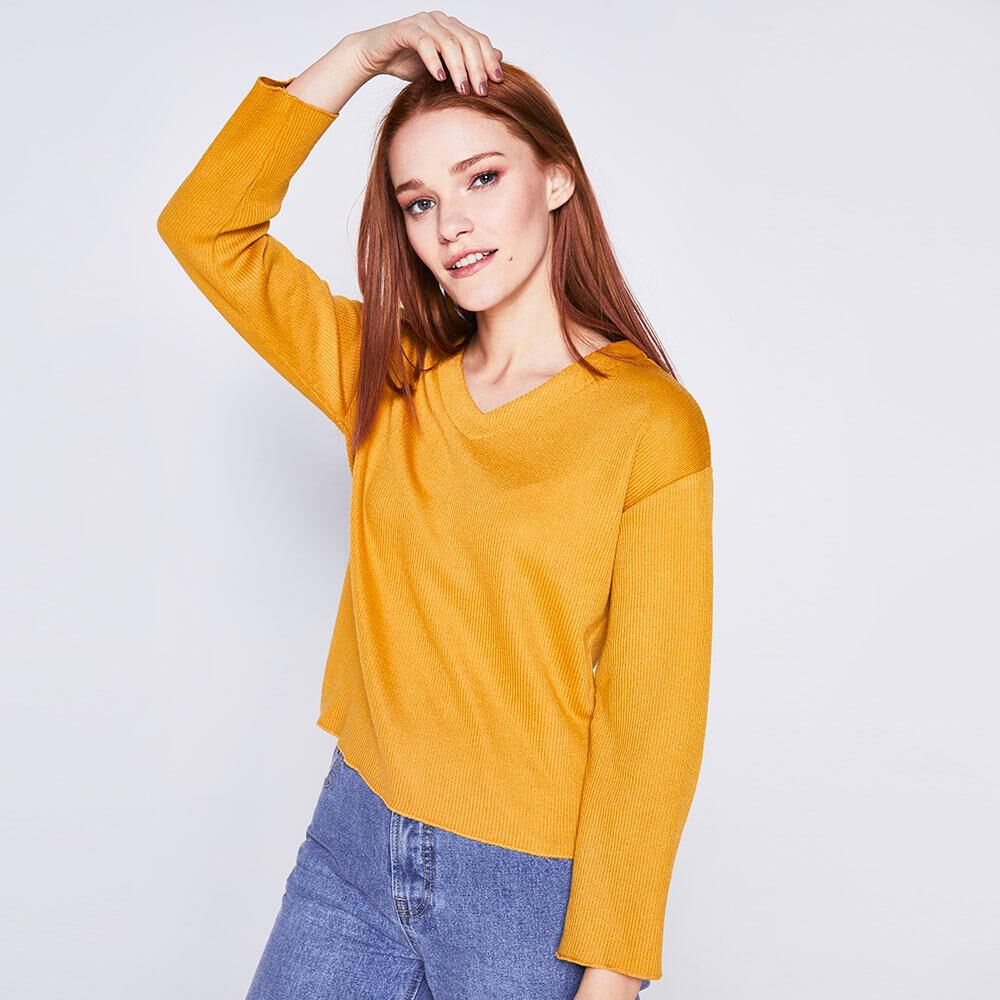 Sweater Liso Mujer Freedom image number 0.0