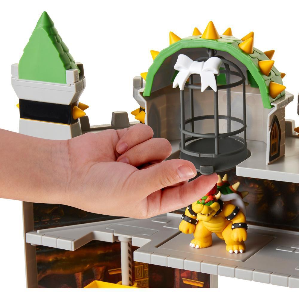 Set De Juguetes Nintendo Super Mario Castillo Bowser image number 4.0