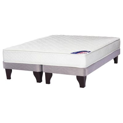 Cama Europea Flex New Entree / 2 Plazas / Base Dividida