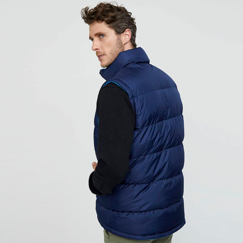 Parka Sin Mangas Reversible Hombre Peroe image number 2.0