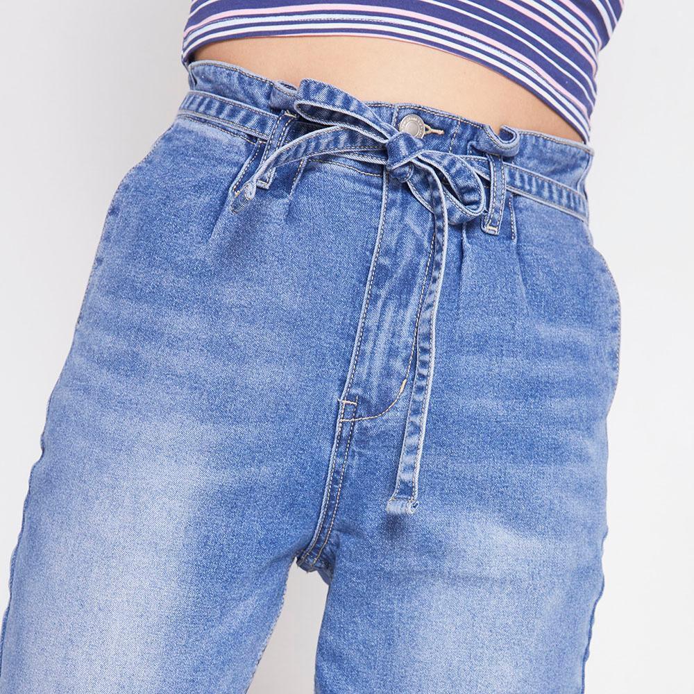 Jeans Tiro Alto Skinny Mujer Freedom image number 3.0