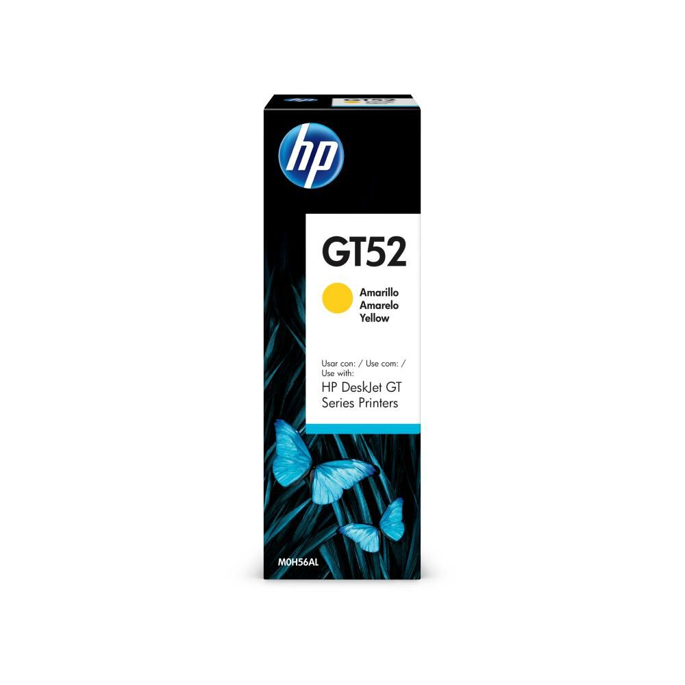 Tinta Hp Gt52 Yellow Ink Bottle image number 1.0