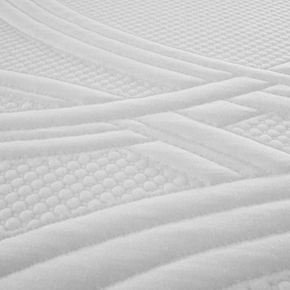 Box Spring Cic Ortopedic / 2 Plazas / Base Dividida  + Set De Maderas + Textil image number 3.0
