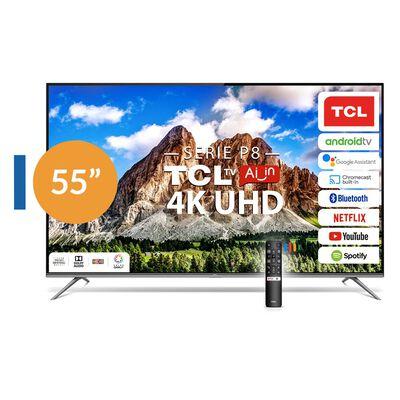 """Led TCL 55P8 / 55"""" / Ultra Hd / 4K / Smart Tv"""