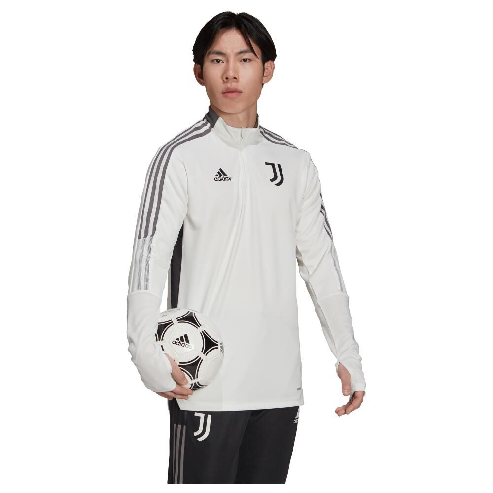 Polera Hombre Adidas Juventus Tiro image number 2.0