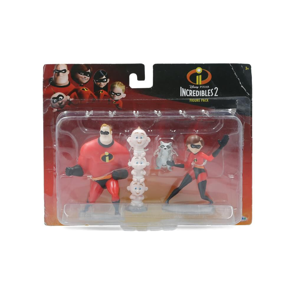 Figura De Accion Los Increibles Four Pack image number 0.0