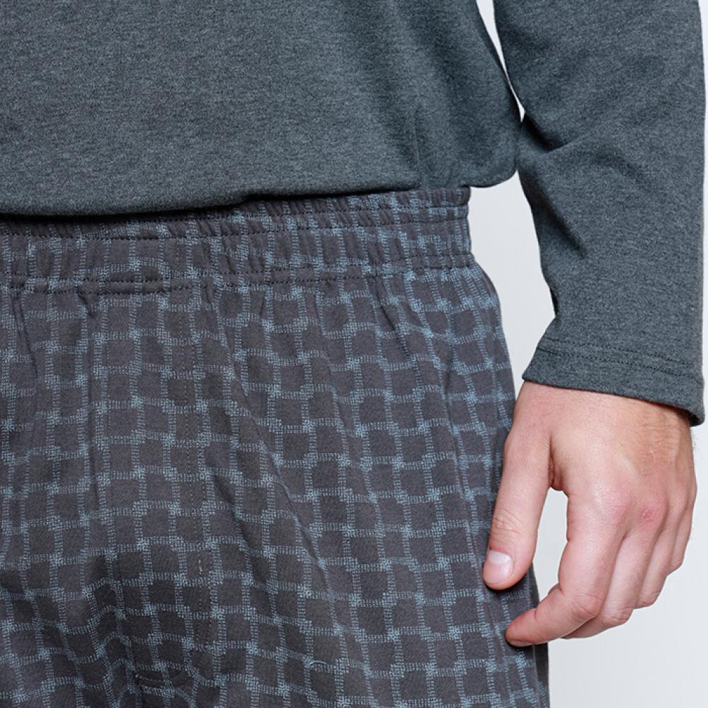 Pijama Largo Hombre Kayser image number 3.0