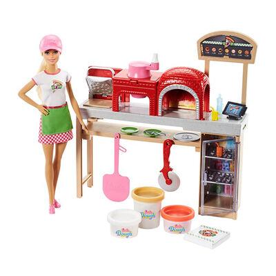 Muñeca Barbie Chef De Pizza