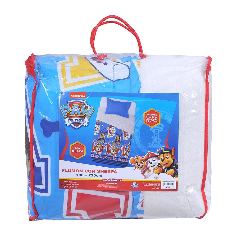 Plumón Sherpa Paw Patrol Pets / 1.5 Plazas image number 3.0