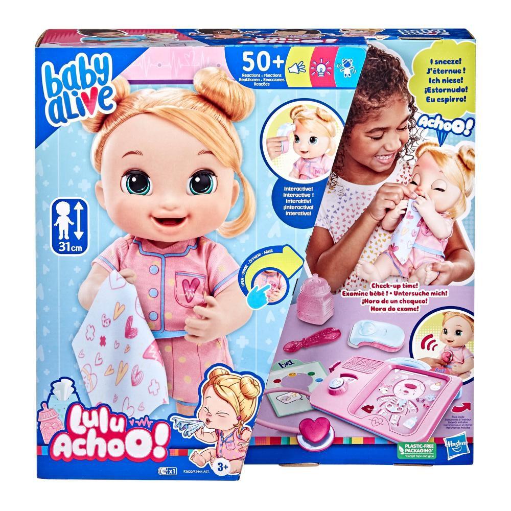Muñeca Baby Alive Lulu Achoo image number 0.0