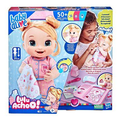Muñeca Baby Alive Lulu Achoo