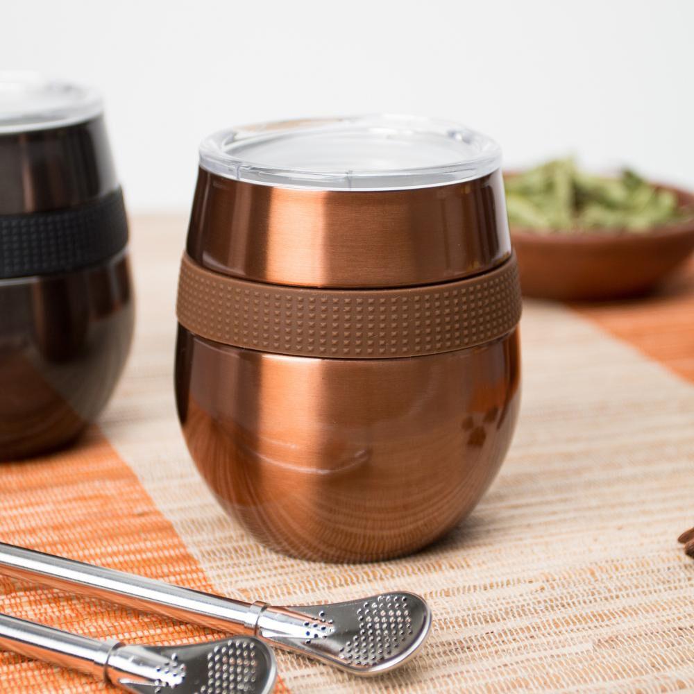 Set Mug Doite Cucao, Copper + Black image number 2.0