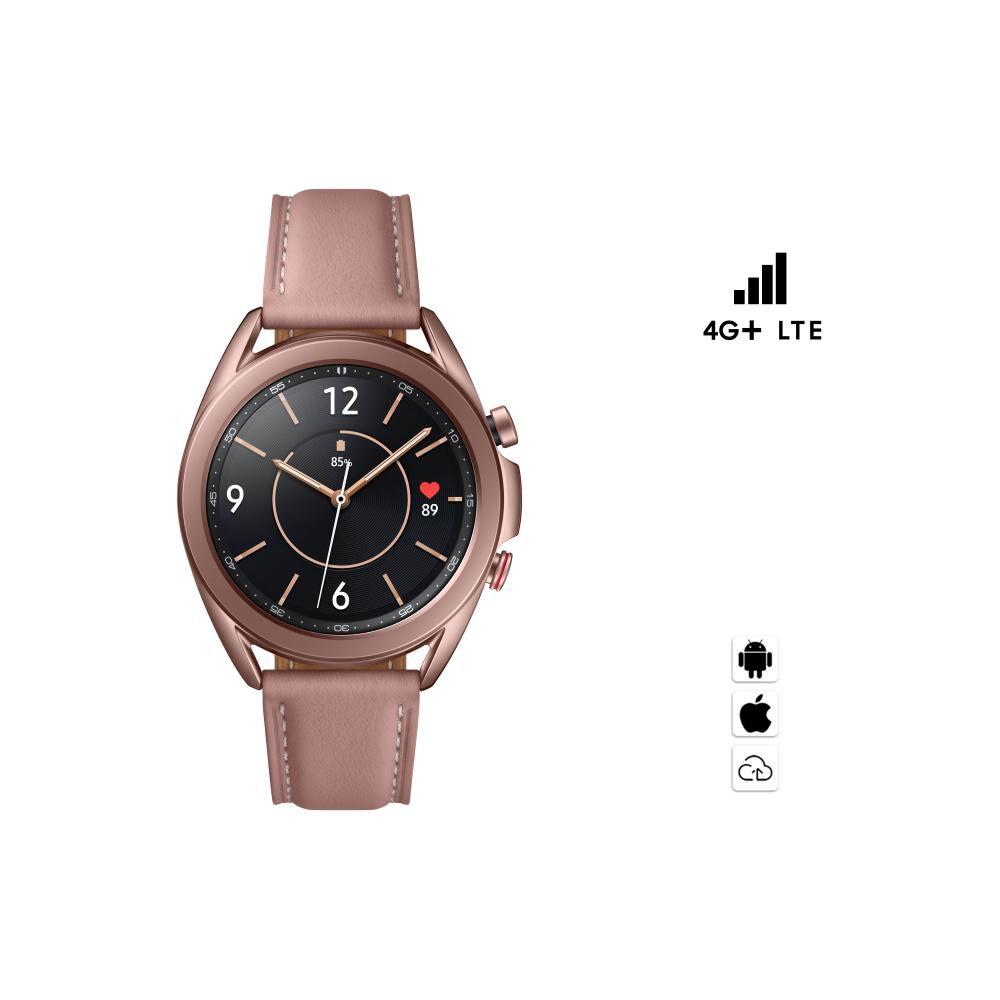 Smartwatch Samsung Galaxy Watch 3 41mm Lte / Rosado  / 8 Gb image number 0.0