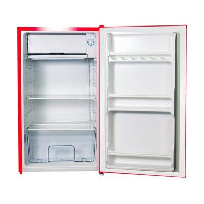 Refrigerador Libero Monopuerta Lfb-90R Retro / Frío Directo / 90 Litros