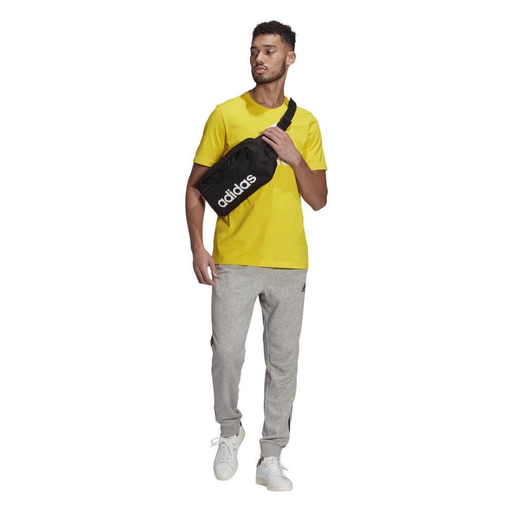 Polera Hombre Adidas Essentials Big Logo image number 3.0