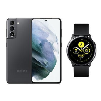 Smartphone Samsung S21 Phantom Gray + Galaxy A21S