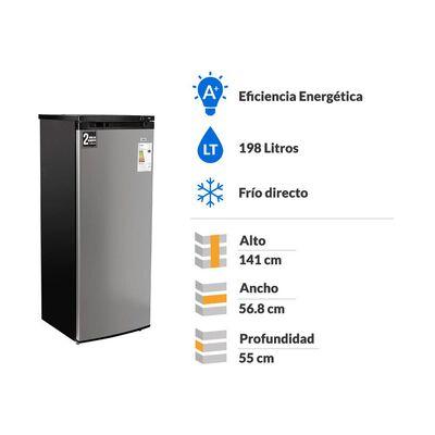 Freezer Vertical Libero Monopuerta Lfv-200I / Frío Directo / 180 Litros