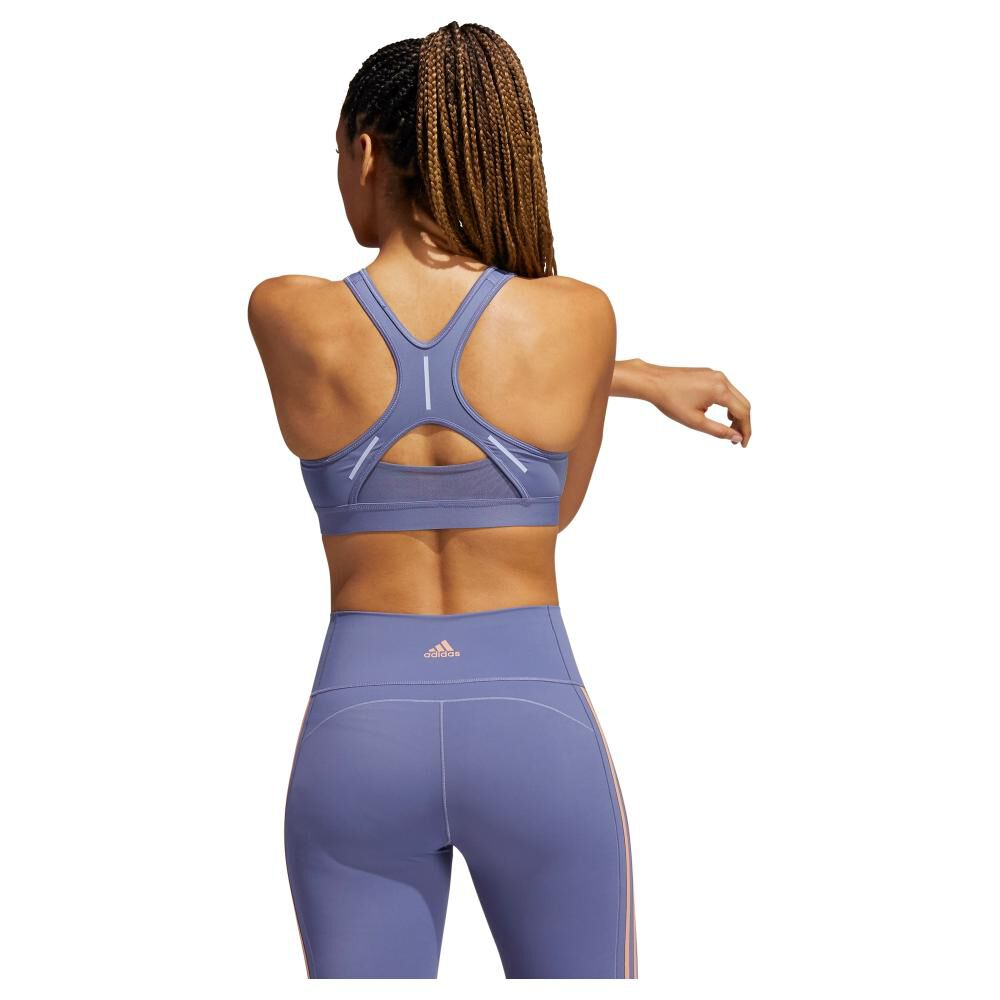 Peto Deportivo Mujer Adidas Believe This Reflective Bra image number 2.0