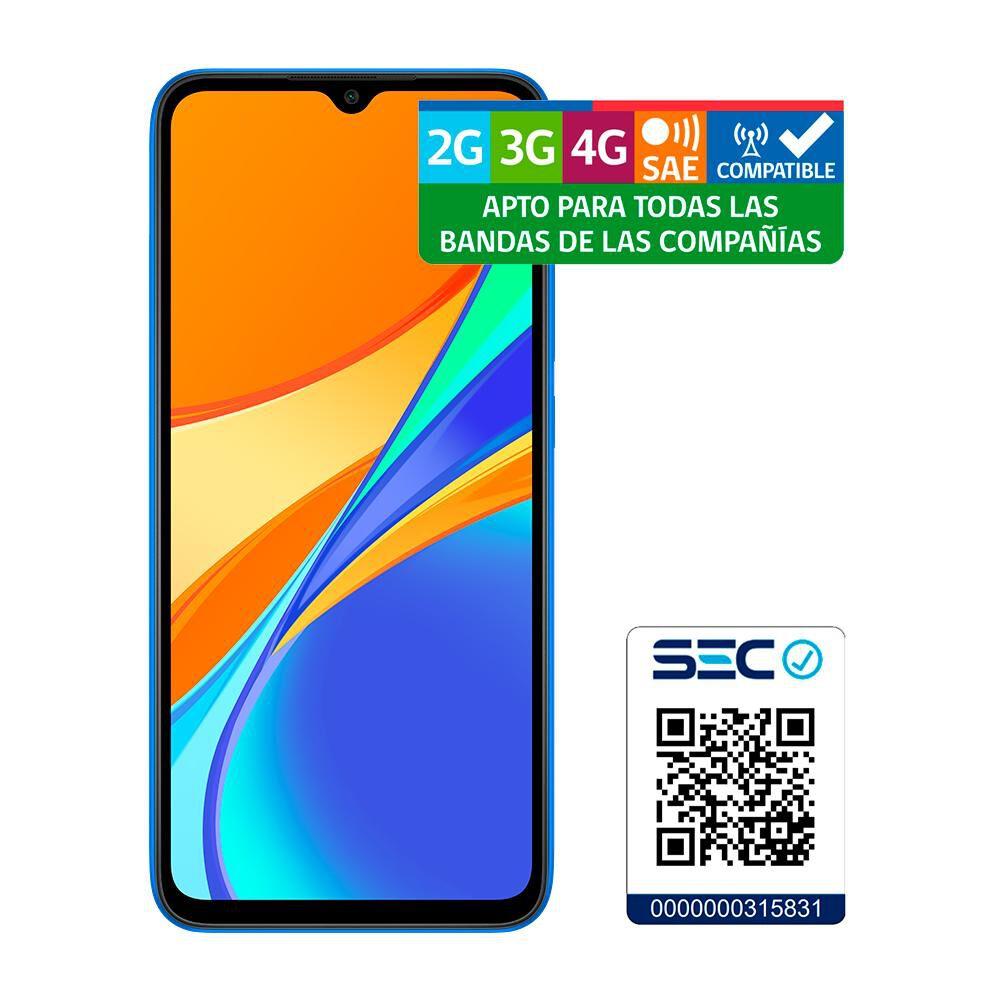 Smartphone Xiaomi Redmi 9c Azul / 32 Gb / Movistar image number 8.0