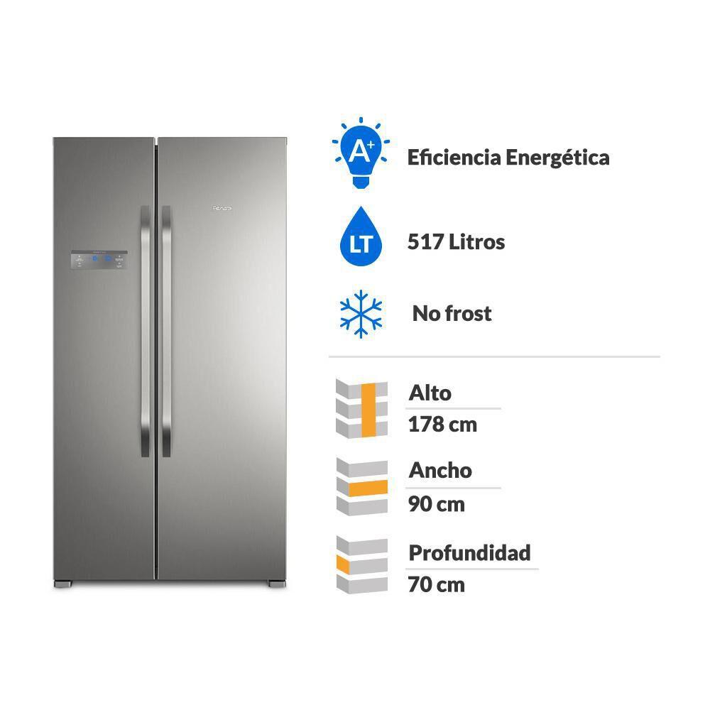 Refrigerador Side by Side Fensa SFX500 / No Frost / 517 Litros image number 1.0