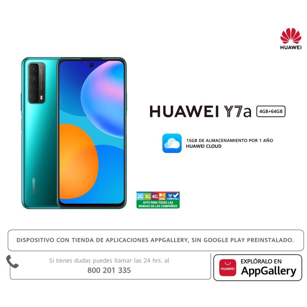 Smartphone Huawei Y7a 64gb / Liberado image number 6.0