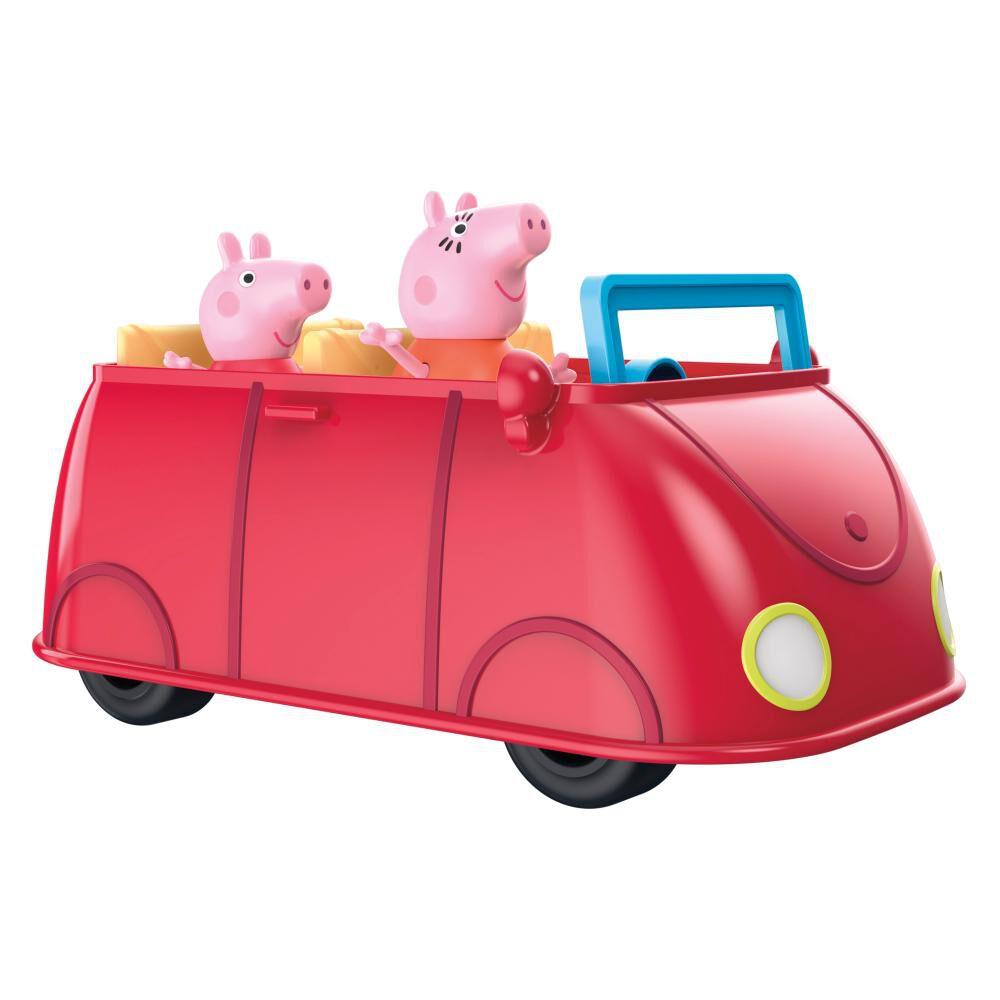 Figura De Acción Peppa Pig Auto Rojo Familiar image number 3.0