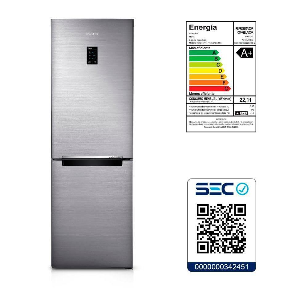 Refrigerador Bottom Freezer Samsung RB31K3210S9/ZS / No Frost / 311 Litros image number 6.0