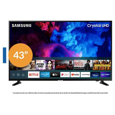 "Led Samsung TU7090 / 43"" / Crystal Ultra Hd 4K /Smart Tv"