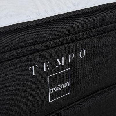 Cama Europea Rosen Tempo / 2 Plazas / Base Dividida + Set de Maderas Domenico