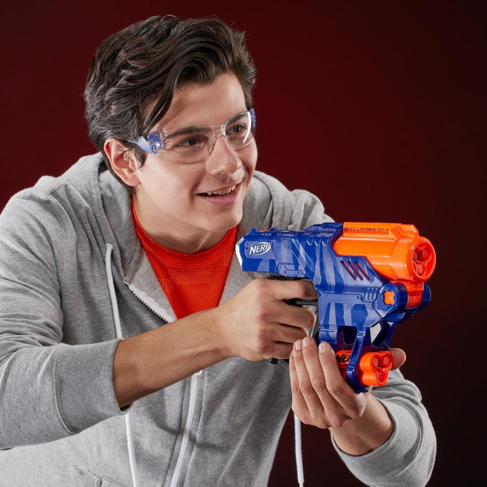 Lanzador De Dardos Nerf Elite Shellstrike Ds-6 image number 3.0