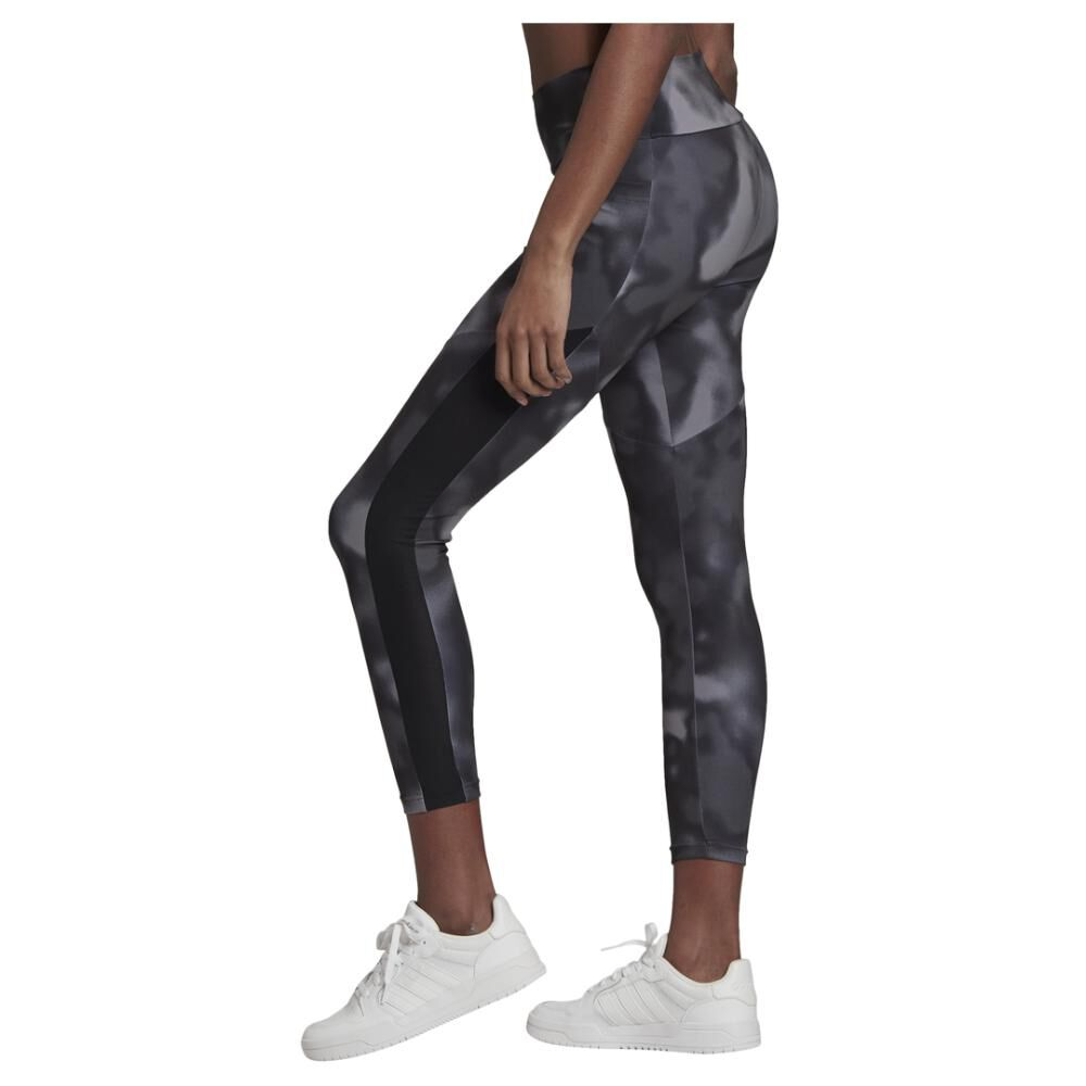 Calza Mujer Adidas Designed To Move Aop 7/8 Tight image number 3.0