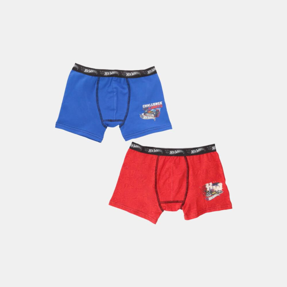 Pack Boxer Infantil Hotwheels / 2 Unidades image number 1.0