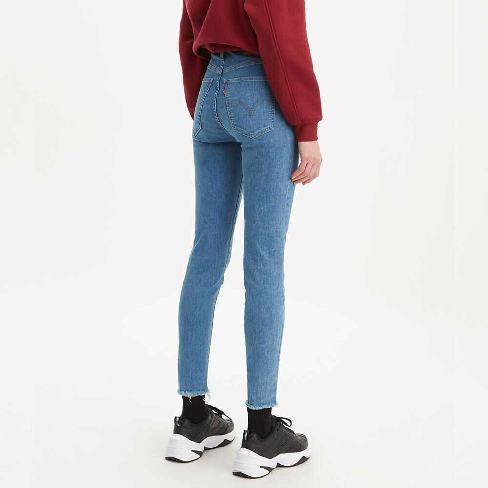Jeans Mujer Super Skinny Tiro Alto Levi's image number 2.0