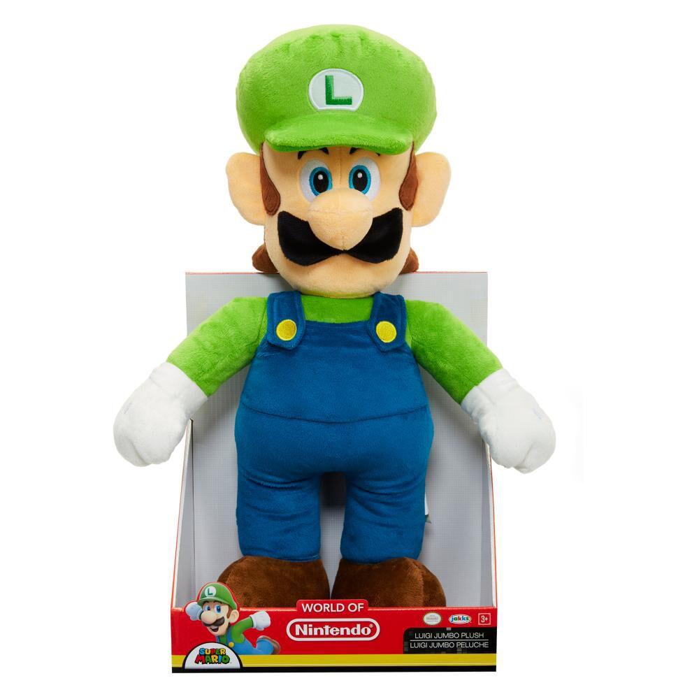 Peluche Nintendo Jumbo Luigi Basico image number 1.0