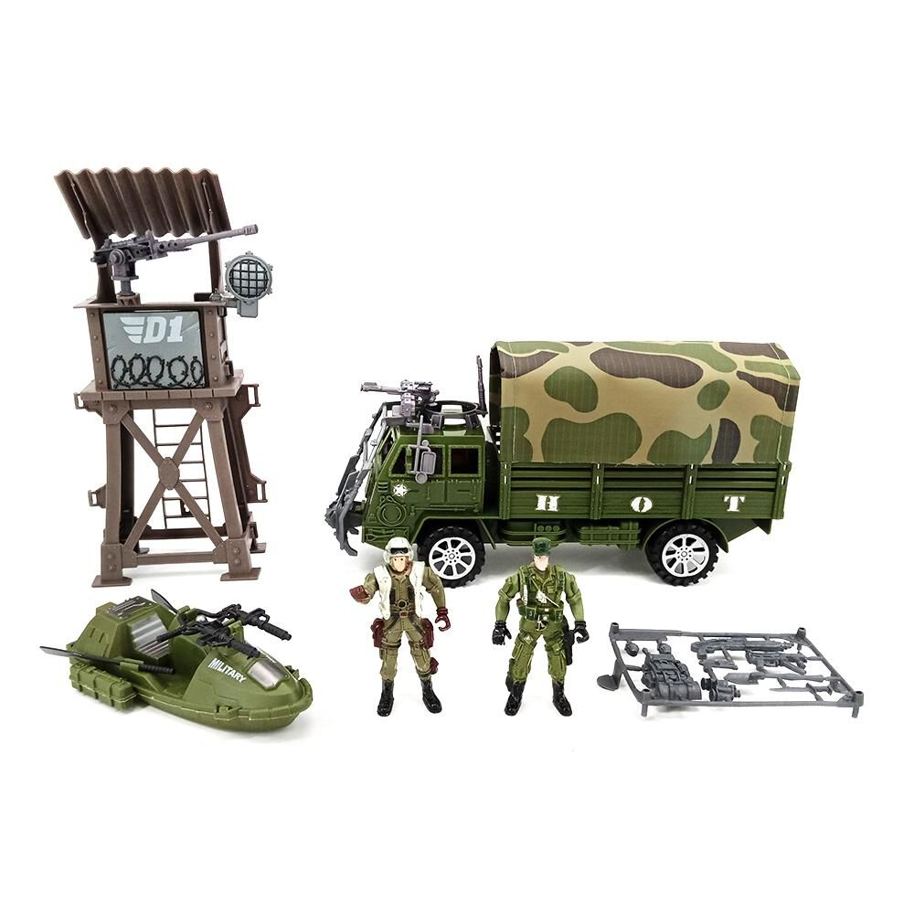 Figura Military Play Set With Truck image number 0.0