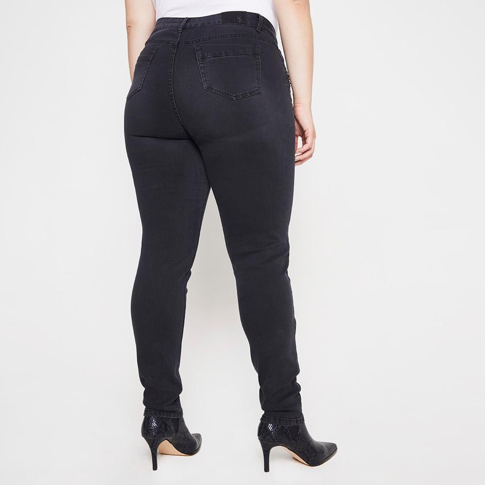 Jeans Mujer Tiro Medio Regular Sexy Large image number 2.0