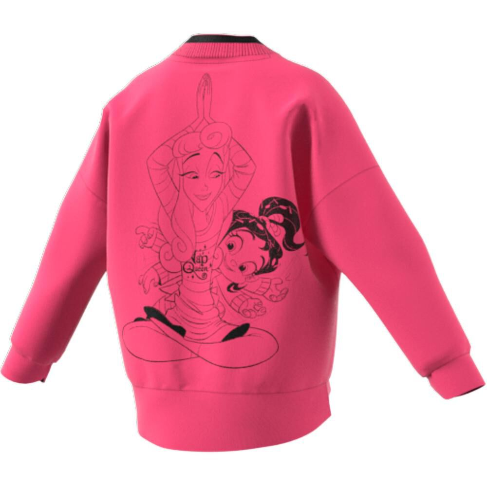 Polerón Deportivo Mujer Adidas Disney Comfy Princesses image number 5.0
