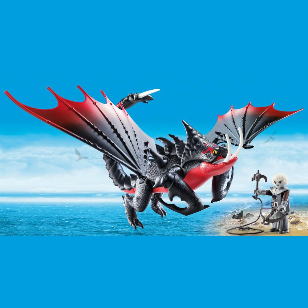 Figura De Acción Playmobil Aguijón Venenoso Con Crimmel image number 3.0