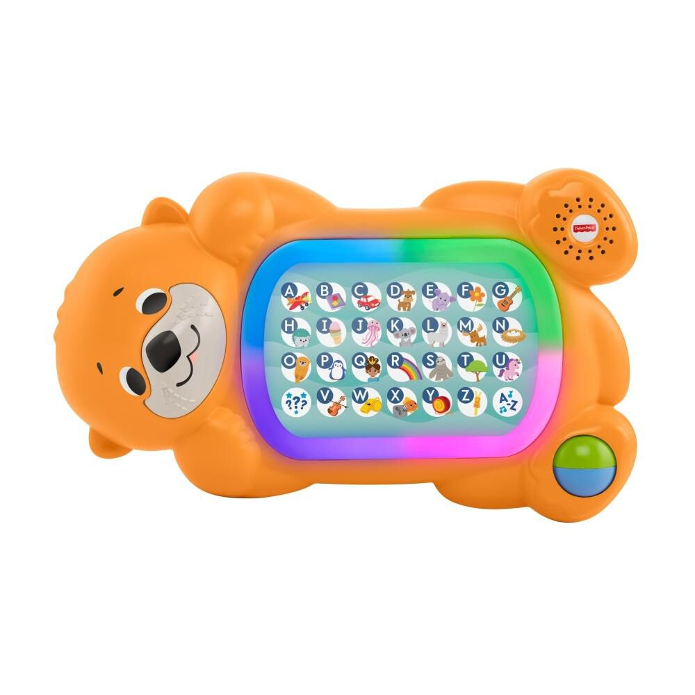 Peluche Didactico Fisher Price Nutria Abc image number 0.0