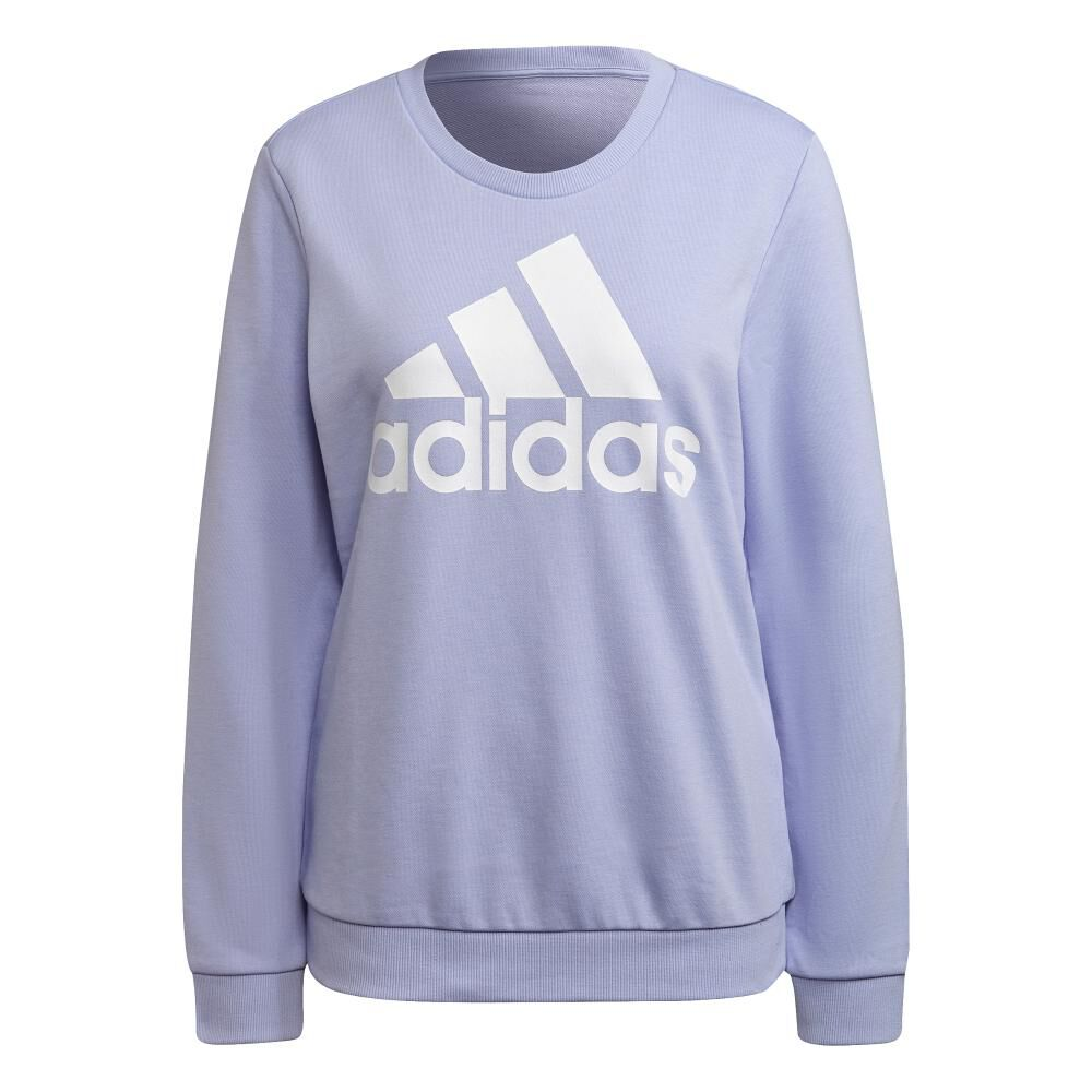 Polerón Deportivo Mujer Adidas Essentials Relaxed Logo image number 5.0