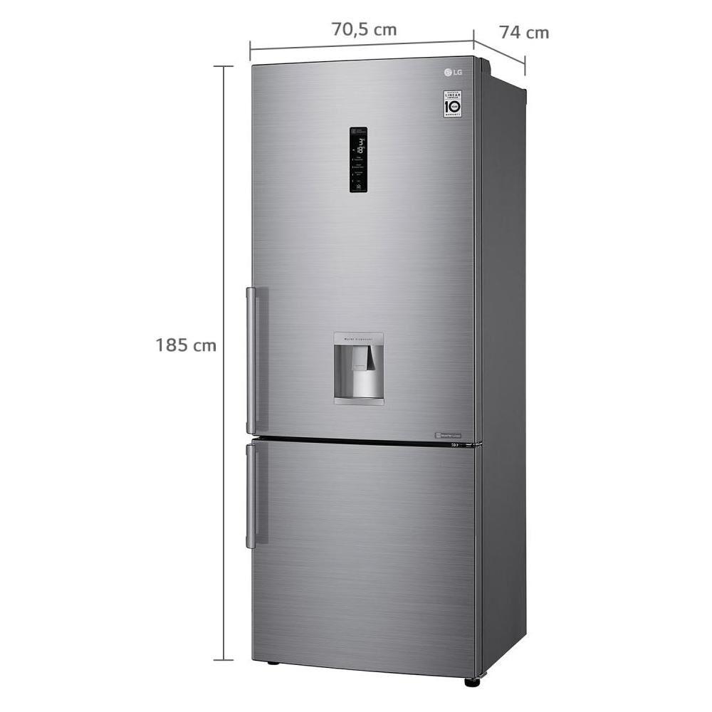 Refrigerador Bottom Freezer LG LB45SGP / No Frost / 442 Litros image number 7.0