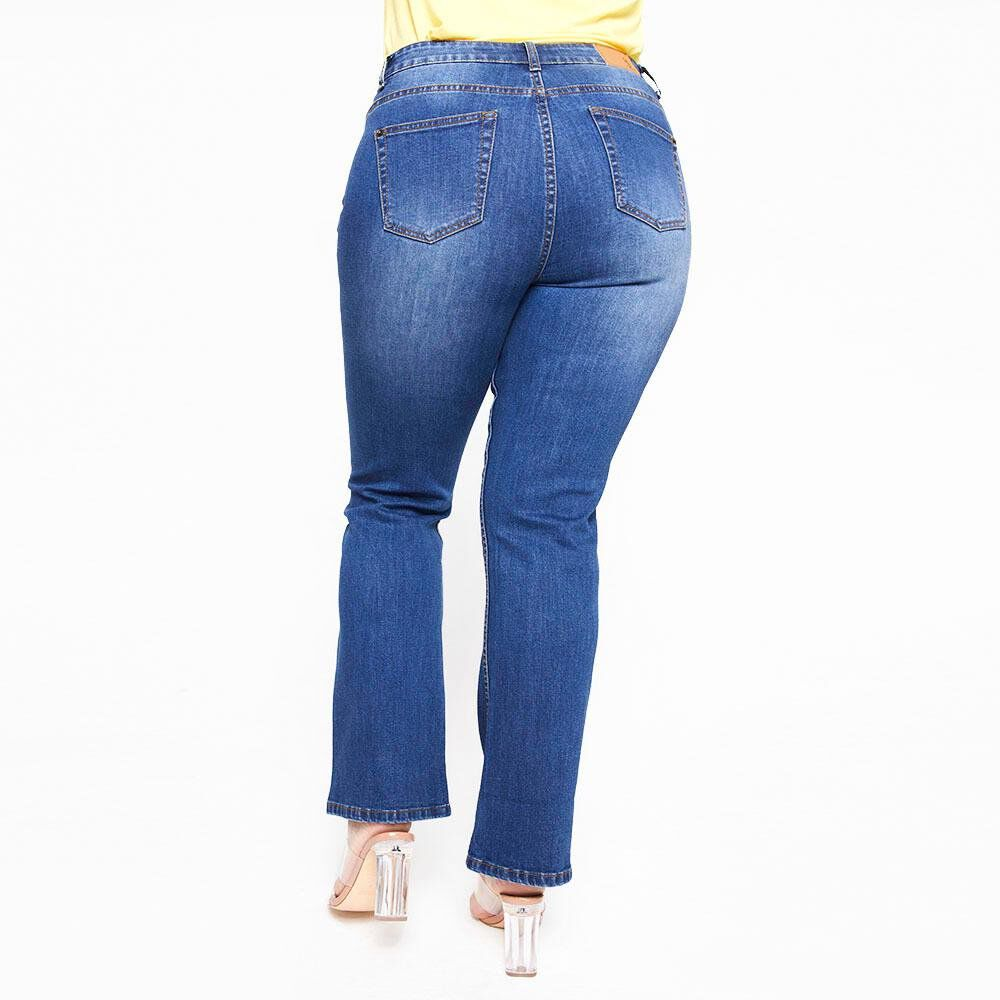 Jeans Mujer Tiro Medio Skinny Sexy large image number 2.0