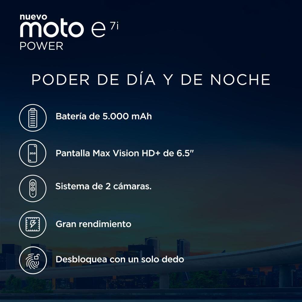 Smartphone Motorola E7i Power Naranjo / 32 Gb / Liberado image number 2.0