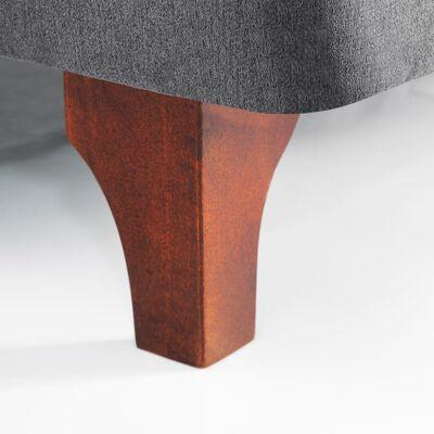 Cama Europea Celta Supreme / 2 Plazas / Base Normal + Textil