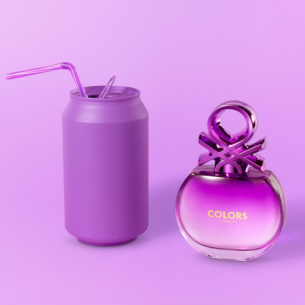 Perfume Colors Purple Woman Benetton / 50 Ml / Edt image number 6.0