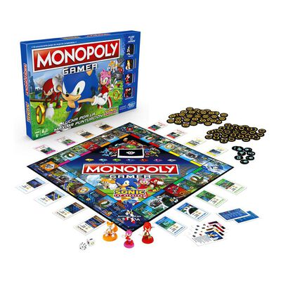 Juegos Familiares Monopoly Gamer Sonic The Hedgehog