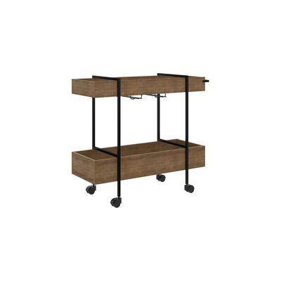 Bar Casaideal Steel Quadra / 2 Estantes