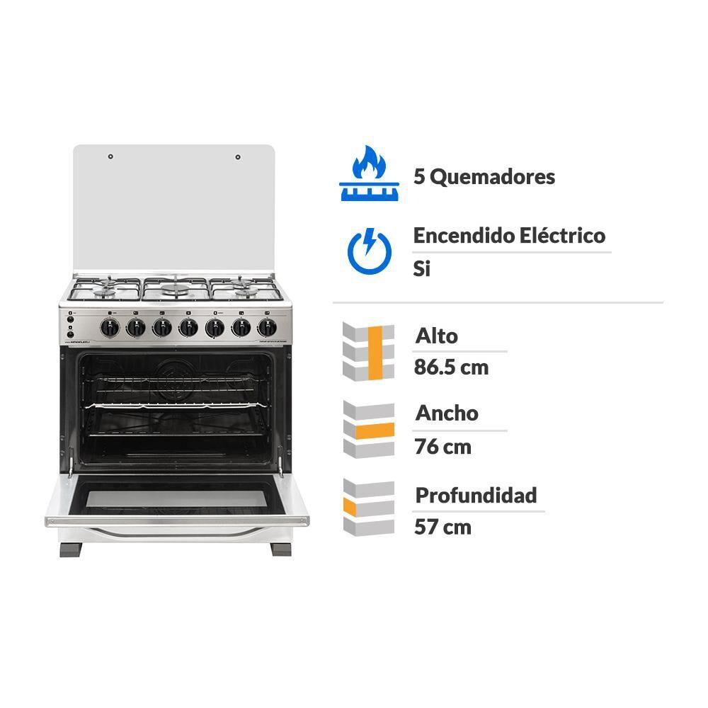 Cocina Sindelen CH-8700IN / 5 Quemadores image number 1.0
