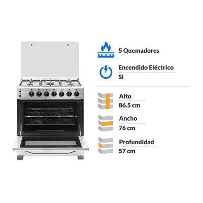 Cocina Sindelen CH-8700IN / 5 Quemadores